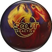 Bowlerstore Products Scout reactiva Ball- de Bolos para Hombre, Color Rojo/púrpura/Oro