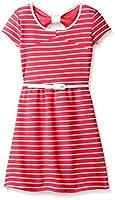 BTween Girls' Short Sleeve Striped Dress...