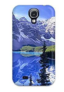 Snap-on Winter Mountain Reflection Case Cover Skin Compatible With Galaxy S4