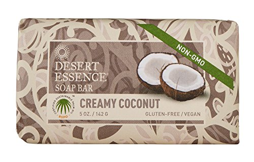 Desert Essence Soap Bar Creamy Coconut - 5 oz ()