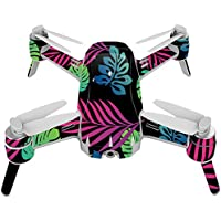 Skin For Yuneec Breeze 4K Drone – Neon Tropics | MightySkins Protective, Durable, and Unique Vinyl Decal wrap cover | Easy To Apply, Remove, and Change Styles | Made in the USA