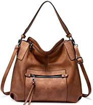Realer Hobo Purses and Handbags for Women, Shoulder Bag Large Crossbody Bags with Tassel