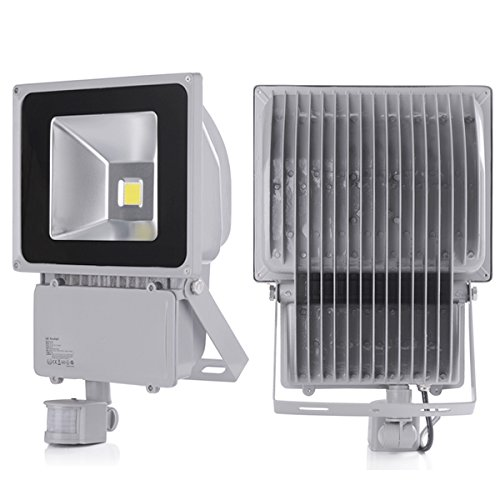 2 pcs 100w energy saving cool white low energy security flood light 2 pcs 100w energy saving cool white low energy security flood light pir sensor movement detector aloadofball Images