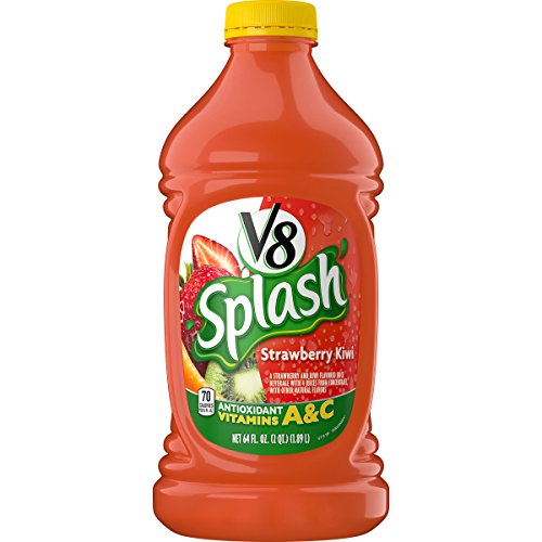 V8 Splash Strawberry Kiwi, 64 oz. Bottle (Pack of 6)