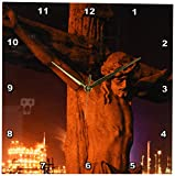 3dRose dpp_90470_2 Louisiana, Baton Rouge, Statue of Jesus Christ-Us19 Pso0003-Paul Souders-Wall Clock, 13 by 13-Inch