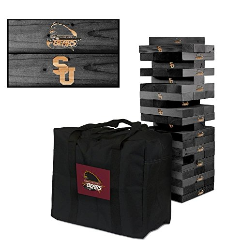 - Victory Tailgate Shaw Bears Wooden Tumble Tower Game