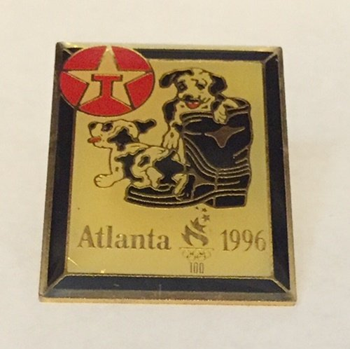 - 1996 Atlanta Olympics Texaco Puppies Pin