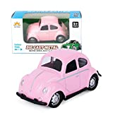 Winkey Toy for 1 2 3 4 5 6 Years Old Kids Girls Boys, Children Educational Toys Model Toy Alloy Pull Back Cute Color Car Model (Pink)