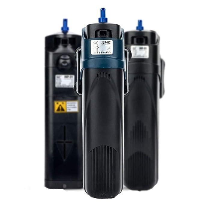 Bomba De Filtro para Acuario 5w-13w UV Esterilizador Filtro De IluminacióN Clarificador LáMpara DesinfeccióN Equipo EliminacióN De Algas Y DesodorizacióN: ...