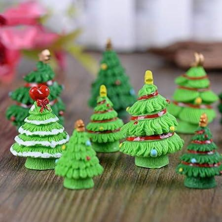 ZAMTAC - 1 Pieza de árbol de Navidad Ruso España Francia Israel pequeñas Manualidades jardín Adorno miniaturas Hombre del hogar DIY: Amazon.es: Hogar