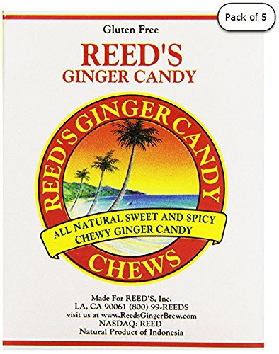 Reed's Ginger Candy Chews, 2 oz (Pack of ()