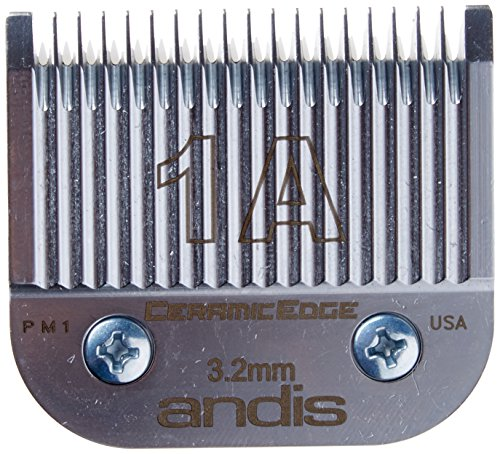 (Andis Size 1a, Leaves Hair, 1/8