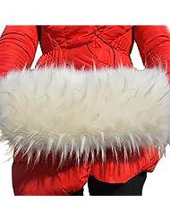 Tortor 1bacha Women Girls' Winter Fuax Fur Handmuff Beige