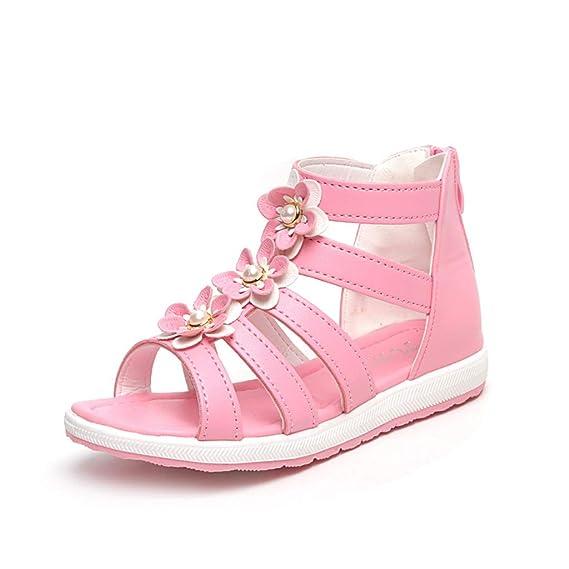d5a52532cd3b7d only storerine♚Chaussures Enfants 2019Summer Nouvelles Chaussures Enfants  Belles Chaussures à Fleurs Sandales Fille Fashion Chaussures bébé Magique  pour ...