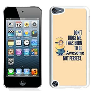 Despicable Me White Best Sale Fantastic iPod Touch 5 Cover Case