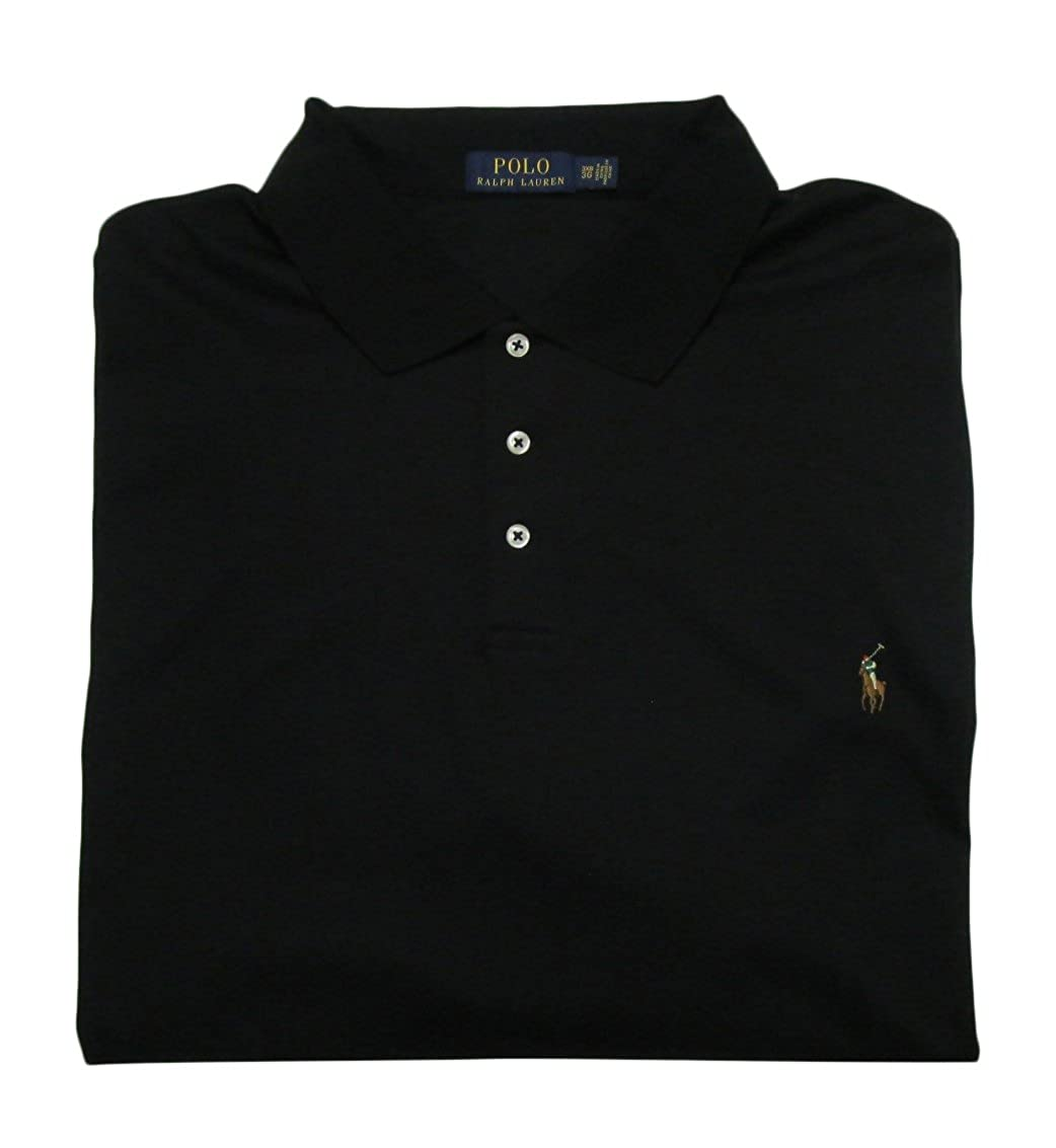Ralph Lauren Big and Tall Soft-touch Pima Cotton Polo Shirt Classic-Fit Polo Ralph Lauren 711663949005