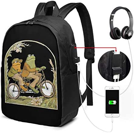 ビジネスリュック Frog And Toad ふたりはともだち メンズバックパック 手提げ リュック バックパックリュック 通勤 出張 大容量 イヤホンポート USB充電ポート付き 防水 PC収納 通勤 出張 旅行 通学 男女兼用