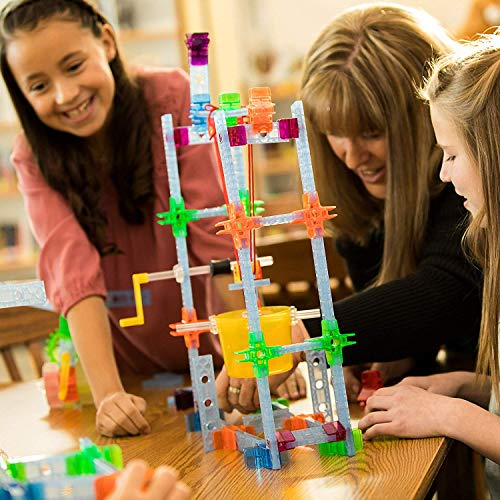 Brackitz STEAM Education Center | STEM Construction Building Block Toy | Sensory Learning Toys for Children PreK-6 | 1224 Pc Set by Brackitz (Image #5)