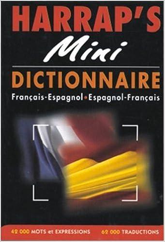 Livres Harrap's Mini : Espagnol/français, français/espagnol pdf ebook
