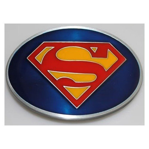 Superman Returns Logo Belt Buckle (Brand New) - Superman Fashion Belt
