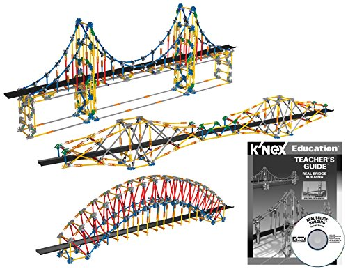 K'NEX Education – Real Bridge Building Set – 2304 Pieces – Ages 10+ Construction Educational Toy (Bridge Construction Set)