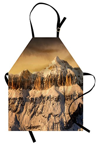 Twin Peaks Waitress Costumes - Ambesonne Mountain Apron, Surreal Saturated Photo