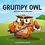 "Grumpy Owl wakes up on the wrong side of the bed and, just when he thinks things can't get worse, he discovers his animal friends are making all the wrong sounds! Brown Bear says ""Woof!"", Tan Toad says ""Gobble!"", and Red Rooster says ""Moo!"" Grumpy Ow..."