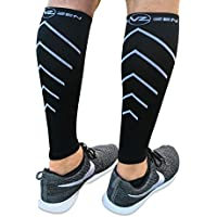 Calf Compression Sleeves - Footless Leg Muscle Support...