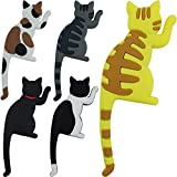 Cat Magnetic Hooks - Decorative Small Super Cute Magnet Hooks for...