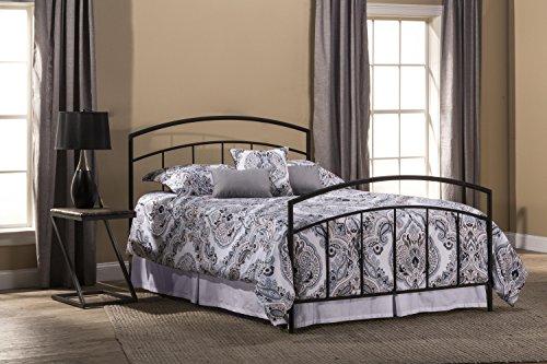 - Hillsdale Furniture 1169BFR Bed Set, Full, Textured Black
