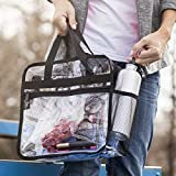 3 Lairds Large Heavy-Duty See-Through PVC Bag