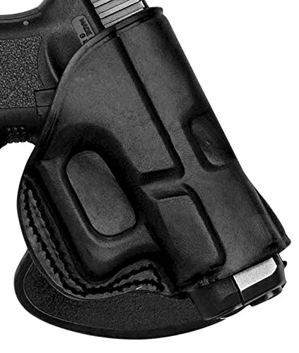 Tagua PD2R-1205 Kimber Solo Black Right Hand Rotating Quick Draw Paddle Holster