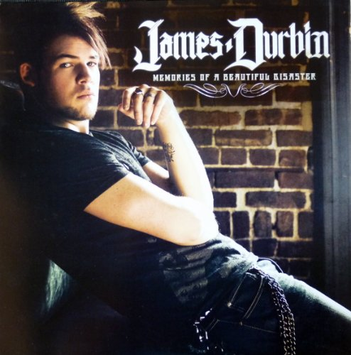 James Durbin - Memories of a Beautiful Disaster - Rare 2-sided Advertising Poster - 12x12 - American Idol (James Durbin Memories Of A Beautiful Disaster)