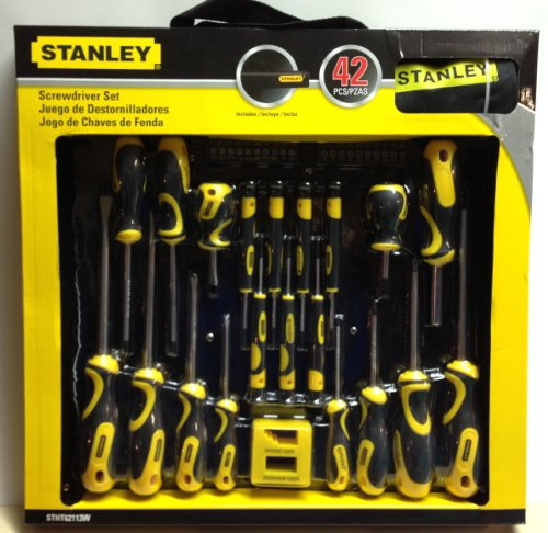 stanley screwdriver set 42 pcs stht0 62113 misc in the uae see prices reviews and buy in. Black Bedroom Furniture Sets. Home Design Ideas