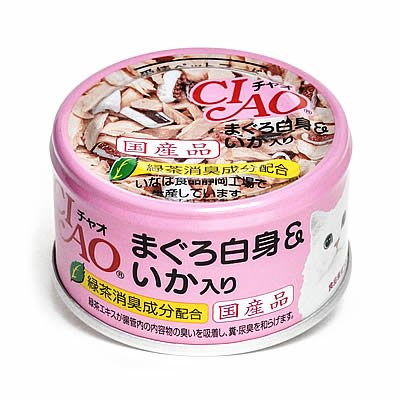 Image result for CIAO White Meat Tuna & Cuttlefish 85g