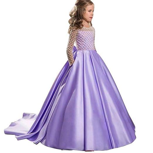 routinfly Falda para Vestido de Princesa para niños, Vestido Largo ...