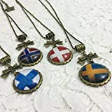Dreamcosplay Axis Powers Hetalia Nordic 4PCS Girl Necklaces Cosplay
