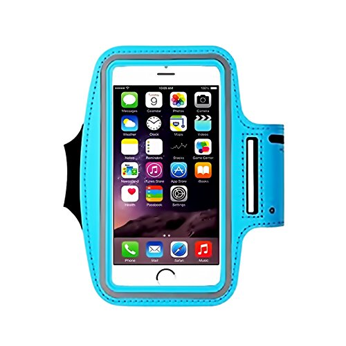 IPhone X /8 / 7 / 6S / 6 / 5S / 5c SPORTS Armband,CaseHQ phone holder-Great for Running,Workouts or any Fitness Activity,velcro strap for Stores Cash, Cards and Keys. (Touch Screen Fan Controller)