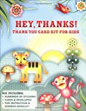 img - for Hey, Thanks!: A Fun Card-Making Kit for Grateful Kids book / textbook / text book