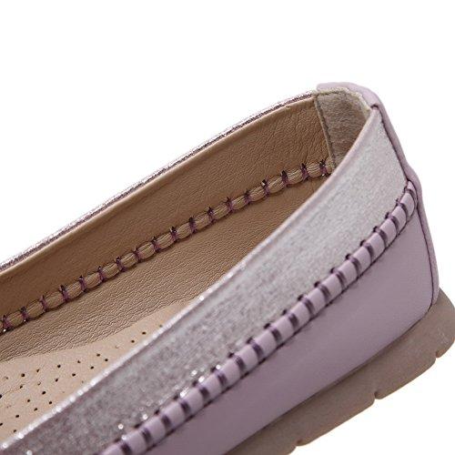 Scarpe Da Donna Con Tacco Alto Da Donna Weenfashion Con Decorazione Viola (metallizzato)