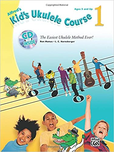 alfreds kids ukulele course 1 the easiest ukulele method ever book cd