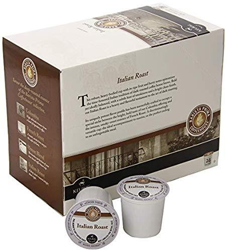 Dark Roast Extra Bold Coffee K-Cup, Italian Roast, 96 Count (Premium pack)