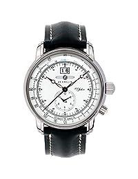 Zeppelin 7640-4 Dual Time Big date 100 Years of Zeppelin Watch