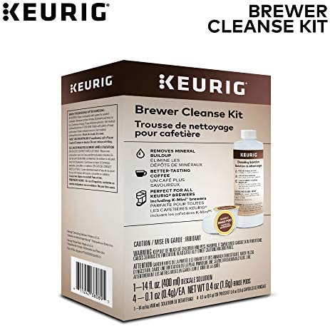 Keurig Brewer Cleanse Kit MaintenanceIncludes