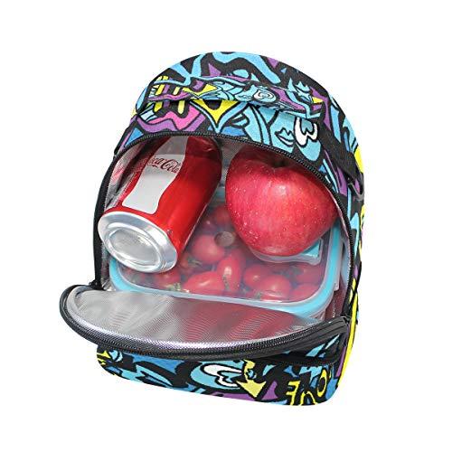 de con Alinlo Bolsa escuela almuerzo hombro aislamiento para la pincnic de correa y ajustable de Tt5twnqpBr