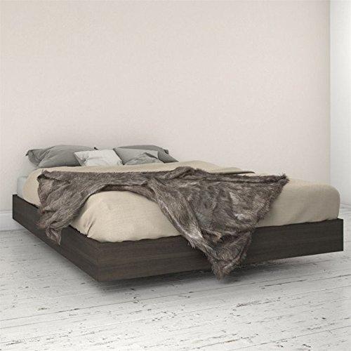 - Nexera 346030 Queen Size Platform Bed, Ebony