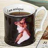 Victorian Lady I Am Unique Redhead Mug