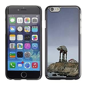 Design for Girls Plastic Cover Case FOR iPhone 6 Starwars Mech OBBA
