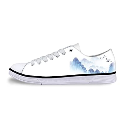 Freewander Comfortable Canvas Sneaker Shoes for Teens