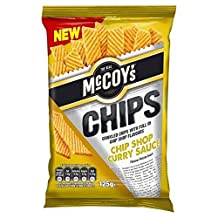 McCoy's Chip Shop Curry Sauce 125g (Pack of 2)